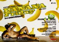 ゲイバー ゲイクラブイベント BANANA Friday 3rd ANNIVERSARY!-Men Only-