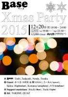 Base X'mas Party  X'mas Live  - Base - 596x843 144.3kb