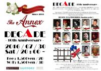 THE ANNEX - DECADE -  10th Anniversary  - The ANNEX - 2105x1489 831.6kb