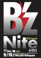 B'z Nite 5th Beat  - AiSOTOPE LOUNGE - 1061x1500 174.3kb