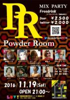 Powder Room @LUV! okinawa sakurazaka  - LUV! Disco Style Bar - 724x1024 232.4kb