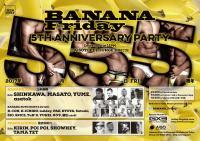 BANANA Friday 〜5th ANNIVERSARY PARTY〜【Gclick - お店からのお知らせ/イベント情報掲示板】