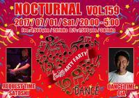 Nocturnal Vol.159【Gclick - お店からのお知らせ/イベント情報掲示板】