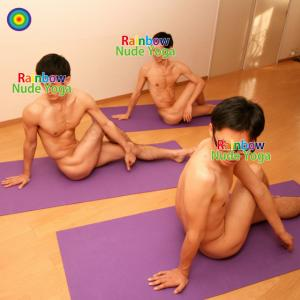 ゲイバー ゲイクラブイベント Nude Yoga Group Lesson for Men 2018 Autumn in Osaka!