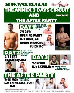 THE ANNEX  3DAYS & THE AFTER PARTY  - The ANNEX - 1536x1920 567.4kb