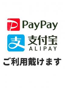 Pay Pay,  ALIPAYが使えます。  - 762x1066 70.8kb